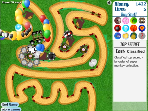 Game Image - Bloons Tower Defense 3
