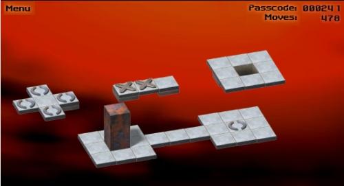 Bloxorz Game Image