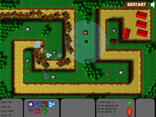 Game Image - Hybra TD