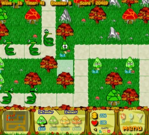 Game Image - Mushroom Farm Defender