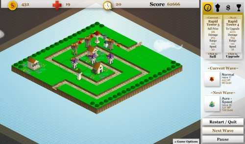Game Image - Pixelshocks Tower Defense 2