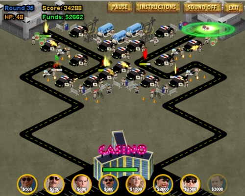 Game Image - Reno 911! Excessive Force