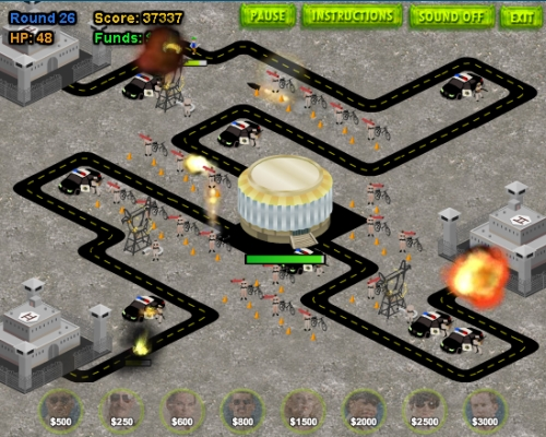 Game Image - Reno 911! Excessive Force Extreme Mode