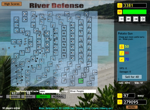 Game Image - River Defense