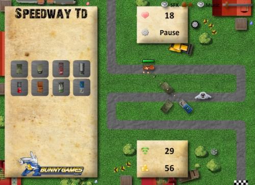 Game Image - Speedway TD