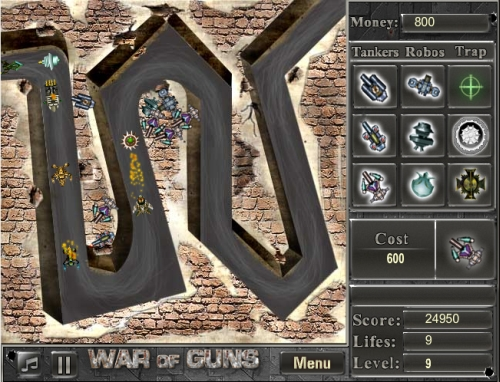 Game Image - War of Guns