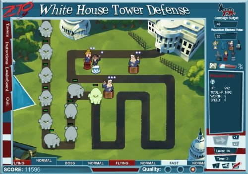 Game Image - 270: White House Tower Defense